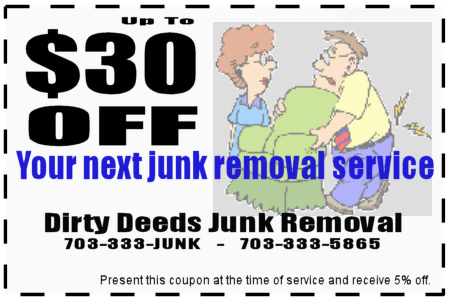 junk removal coupon fairfax va
